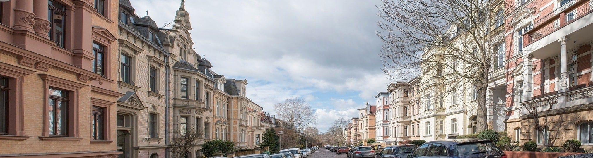 Häuser in Halle